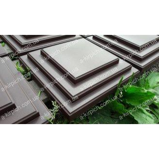 Крышка на забор LAND BRICK Египет коричневая 305х305 мм