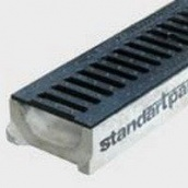 Лоток водоотводный Mini А-С бетон 60х141х500 мм (4010)