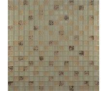 Мозаїка Grand Kerama мікс пряжене молоко-камінь 300х300 мм (583)
