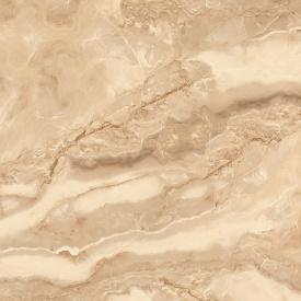 Керамогранит Stevol Элитный Marble tiles Оникс бежевый глазурованный полированный 60х60 см (3D003)