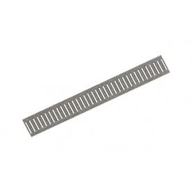 Решетка водоприемная штампованная Basic РВ-10.14.100 оцинкованная сталь 1000x136x23 мм (2010)