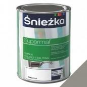 Эмаль масляно-фталевая Sniezka Supermal 0,8 л пепельный глянец