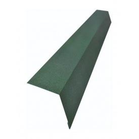 Карнизна планка Тайл 78х120 мм зелена