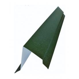 Напівгребінь плоский Тайл зелений