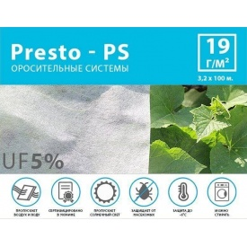 Агроволокно белое Presto-PS (спанбонд) плотность 19 г/м 3,2х100 м (19G/M 32 100)