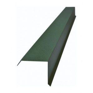 Торцевая планка Тайл тип 2 30х100х140х20 мм зеленая