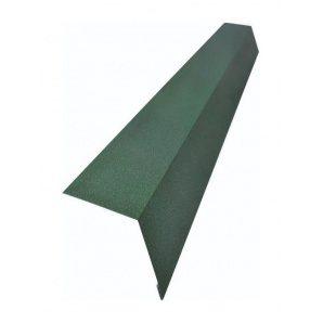 Карнизная планка Тайл 78х120 мм зеленая