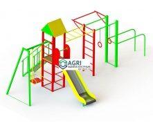 Спортивно-игровой комплекс Kiddie 14 6,5х3,8х2,9 м