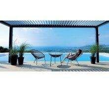 Комплект садових меблів АМФ стіл Agave + стільці Acapulco 3 шт
