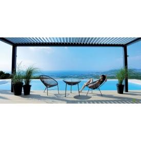 Комплект садовой мебели АМФ стол Agave + стулья Acapulco 3 шт