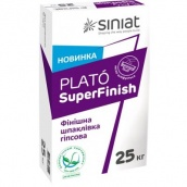 Шпаклевка гипсовая под покраску Plato Superfinish 25 кг