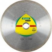 Круг алмазный отрезной по керамической плитке керамограниту Klingspor SUPRA DT600F 125Х22,23