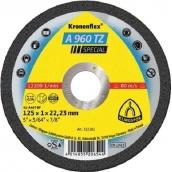 Отрезной круг по металлу Klingspor 125х1,0х22,2 Kronenflex A960 Speсial