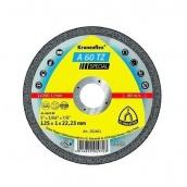 Отрезной круг по металлу Klingspor 125х1,0х22,2 Kronenflex A60 Speсial