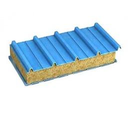 Стеновая сэндвич-панель с наполнителем из минеральной ваты 80 мм