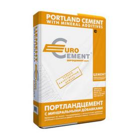 Цемент ПЦ 2/Б-Ш марка 400 Євроцемент 50 кг заводська упаковка