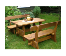 Комплект садових меблів №3 140х75х75 см
