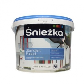 Краска фасадная Снежка Стандарт Фасад (5 л)