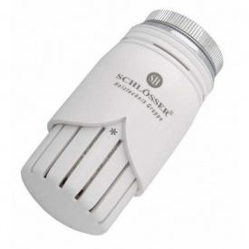 Термостатическая головка Schlosser Diamant SH белая M30x1,5 (600100001)