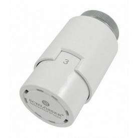 Термостатична головка Schlosser Diamant Invest SH біла M30x1,5 (600600010)