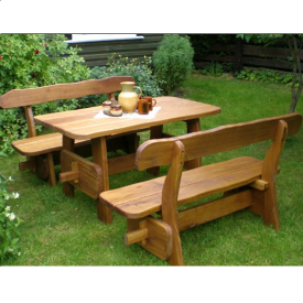 Комплект садовой мебели №3 140х75х75 см