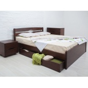 Кровать деревянная Олимп Лика Люкс с ящиками