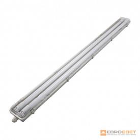 Светильник промышленный EVRO-LED-SH-40 SLIM с LED лампами 6400К 2х1200 мм