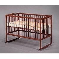 Детская деревянная кроватка-манеж Дубок Антошка