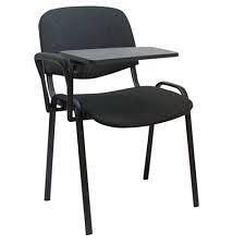 Стілець офісний ISO black з конференційним столом