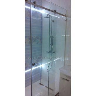 Розсувні душові кабіни з загартованого скла під замовлення