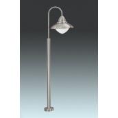 Светильник садово-парковый EGLO Сидней 1х60W E27 нержав сталь (83969)