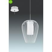 Світильник підвісний люстра EGLO Венчино 9W LED білий/хром (94337)