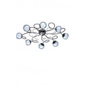 Світильник стельовий EGLO Асколесе 1 2,5 W G9 LED чорний/білий (95161)