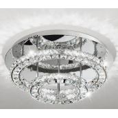 Світильник стельовий люстра EGLO Тонериа 36W LED хром/кришталь (39003)