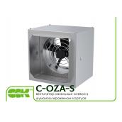 Вентилятор канальний осьовий в звукоізольованому корпусі C-OZA-S-050-380