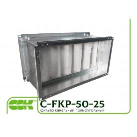 Фильтр для канальной вентиляции C-FKP-50-25-G4-panel