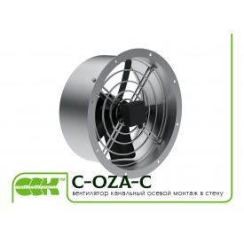 Вентилятор канальный осевой монтаж в стену C-OZA-C-063-380
