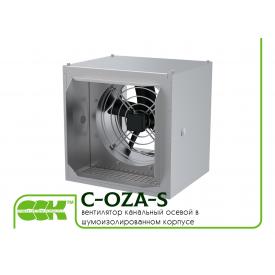 Вентилятор канальний осьовий в звукоізольованому корпусі C-OZA-S-063-4-380