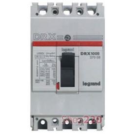 Автоматичний вимикач 100 А 3 полюси 20 кА 27028 Legrand DRX125