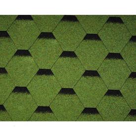 Бітумна черепиця Icopal Tema Shadow 1000х317 мм зелений ліс