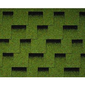 Бітумна черепиця Icopal Claro Shadow 1000х317 мм зелений ліс