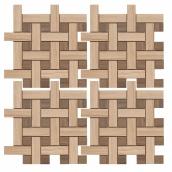 Мозаика ZEUS CERAMICA MARMO ACERO 30x30 см CREMA MMCXMA36