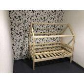Дитяче ліжко з натурального дерева 1600x800 мм