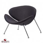 Кресло-лаундж Concepto Foster текстиль серый графит