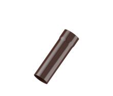 Труба водосточная Fitt 125 мм 3 м коричневый