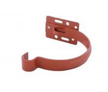 Держатель желоба Profil металл. малый 130 мм кирпичный