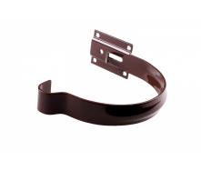 Держатель желоба Profil металл. малый 90 мм коричневый