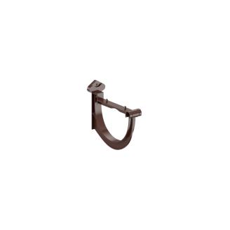 Держатель желоба Fitt пласт125 коричневый