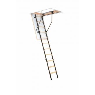 Лестница на чердак Oman Stallux Termo H280 120x70 см