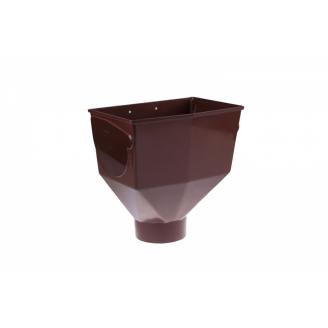 Горло желоба Profil 130 мм коричневое
